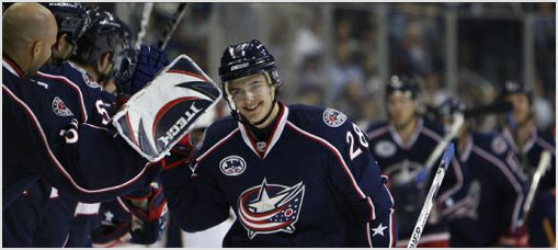Columbus Blue Jackets Notes, Quotes 2008-11-27